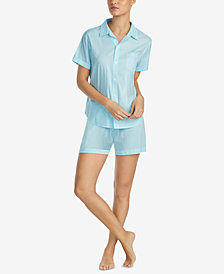 Lauren Ralph Lauren Seaside Classic Striped Pajama Set