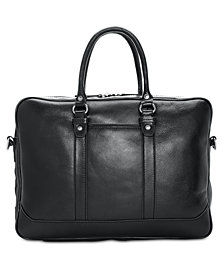 Patricia Nash Men's Heritage Leather Slim Briefcase