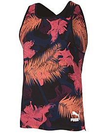 Puma Men's Tropical Printed Tank Top