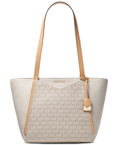 b7f05951c7bc Michael Kors Signature Whitney Small Tote & Reviews - Handbags ...