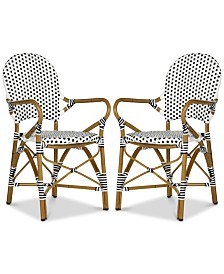 Baylin Accent Chair (Set Of 2), Quick Ship