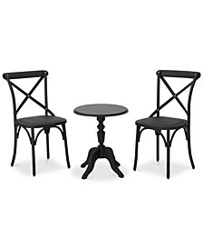 Baja 3-Pc. Outdoor Chat Set, Quick Ship