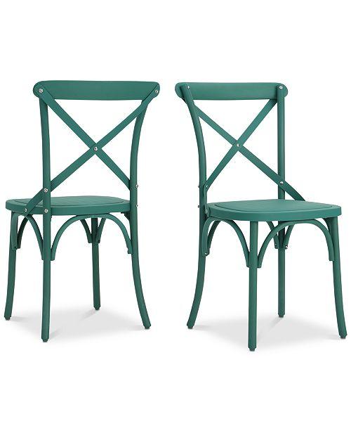 Noble House Veranda Magnolia Dining Chairs (Set of 2)