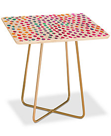 Deny Designs Elisabeth Fredriksson Paradise Dots Square Side Table