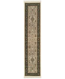 "Oriental Weavers Masterpiece Tabriz Ivory 2'3"" x 10' Runner"
