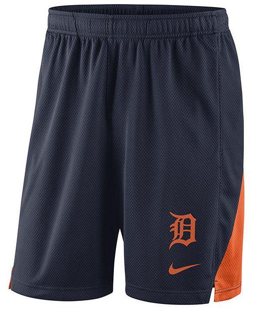 Nike Men's Detroit Tigers Dry Franchise Shorts