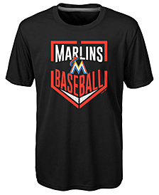 Outerstuff Miami Marlins Run Scored T-Shirt, Little Boys (4-7)