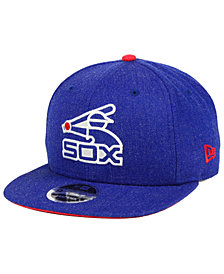 New Era Chicago White Sox Heather Hype 9FIFTY Snapback Cap