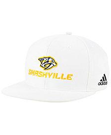 adidas Nashville Predators Smash Snapback Cap