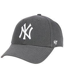 '47 Brand New York Yankees Charcoal MVP Cap