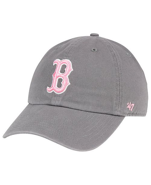 47 brand boston red sox dark gray pink clean up cap reviews