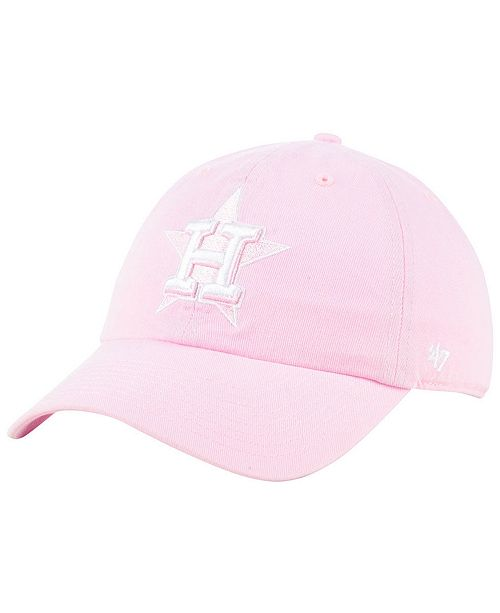 848a460eaa6dc 47 Brand Houston Astros Pink CLEAN UP Cap   Reviews - Sports Fan ...