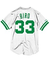Mitchell   Ness Men s Larry Bird Boston Celtics Name and Number Mesh  Crewneck Jersey f3e0db7d4