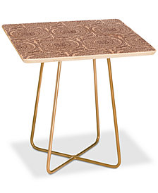 Deny Designs Holli Zollinger Sundial Light Square Side Table