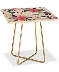 Deny Designs Iveta Abolina Neverending August Square Side Table