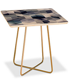 Deny Designs Mareike Boehmer Graphic Square Side Table
