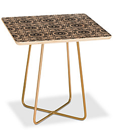 Deny Designs Natalie Baca Baja Mexicali Square Side Table