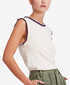 Free People Ringer Muscle T-Shirt
