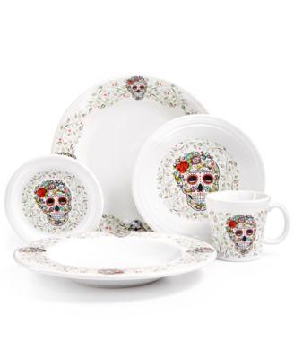 Skull and Vine Sugar Bread Tray