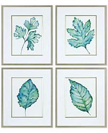 Uttermost Spring Leaves 4-Pc. Printed Wall Art Set