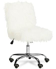 Hanna Faux Fur Office Chair