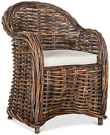 Idelene Wicker Chair, Quick Ship