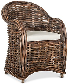Idelene Wicker Chair, Quick Ship