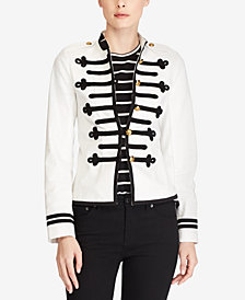 Lauren Ralph Lauren Military Denim Jacket