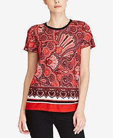 Lauren Ralph Lauren Floral-Print T-Shirt