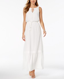 Adrianna Papell Sleeveless Maxi Dress