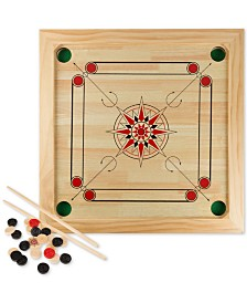 25-Pc. Carrom Board Game Set