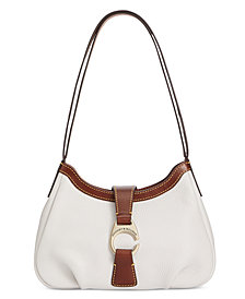 Dooney & Bourke Small Pebble Leather Shoulder Bag