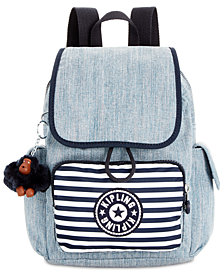 Kipling Printed City Pack X-Small Denim Backpack