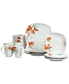 Lily 16-Pc. Dinnerware Set, Service for 4