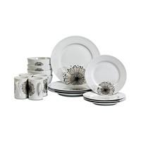 Tabletops Unlimited Amanda 16-Piece Dinnerware Set