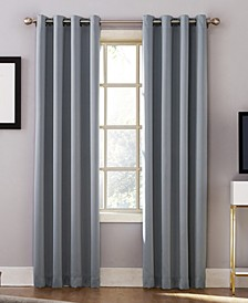 "CLOSEOUT! Oslo 52"" x 84"" Theater Grade 100% Blackout Grommet Curtain Panel"