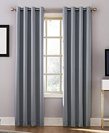 "Sun Zero Oslo 52"" x 84"" Theater Grade 100% Blackout Grommet Curtain Panel"