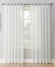 "Lichtenberg No. 918 Sheer Voile 59"" x 95"" Tab Top Curtain Panel"
