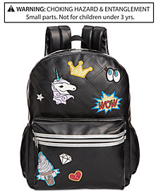 Accessory Innovations Little & Big Girls Patch It Up Quilted Backpack