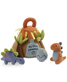 Gund® Baby Boys or Girls My Dino Adventure Plush Play Set