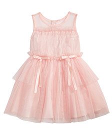 Nanette Lepore Baby Girls Blush Illusion Dress
