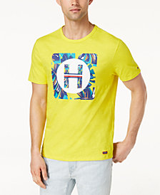 Tommy Hilfiger Men's Tropical Graphic-Print T-Shirt, Created for Macy's