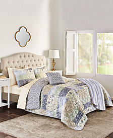 Josie 5-Pc. Reversible Full/Queen Quilt Set