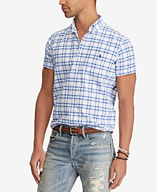 Polo Ralph Lauren Men's Classic Fit Plaid Shirt