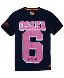 Superdry Men's Osaka Micro Dot T-Shirt