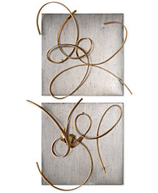 Uttermost Harmony 2-Pc. Metal Wall Art Set
