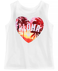 Epic Threads Little Girls Aloha Tank Top, Created for Macy's