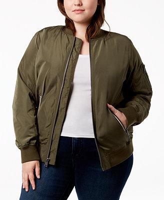 Plus Size Melanie Bomber Jacket by Levi's