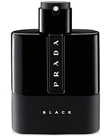 Prada Men's Luna Rossa Black Fragrance Collection