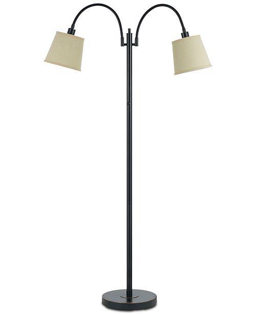 Cal Lighting Gail Gooseneck Metal Floor Lamp